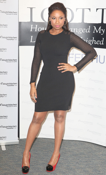 Jennifer Hudson's little black dress