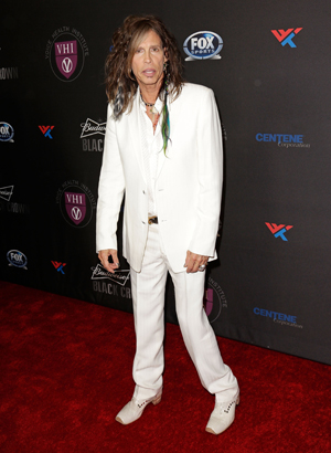 Steven Tyler at a benefit