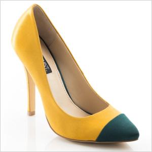 Yellow Adrienne Heel
