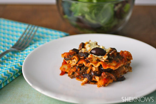 Greek-inspired Lasagna