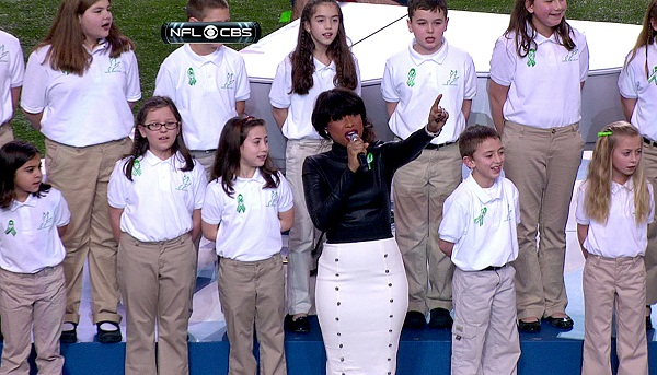 Sandy Hook kids at The Super Bowl