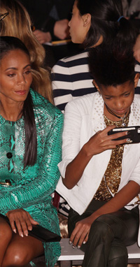 Willow Smith at NYFW 2013