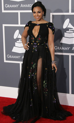 Ashanti at the 2013 Grammys