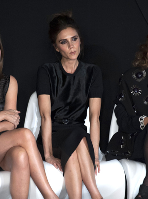 Victoria Beckham at Fashion Week