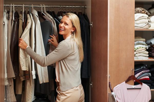 Quick tips to an organized closet