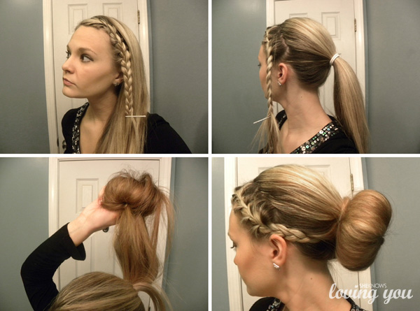 Creative sock bun ideas