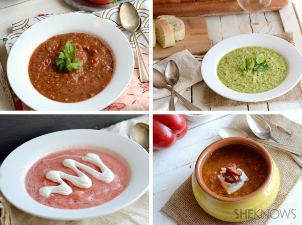 Fruity and savory soups for Easter dinner