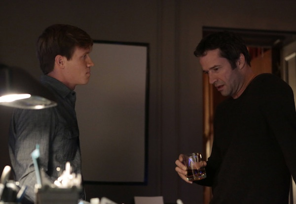 Carroll and Roderick in The Following