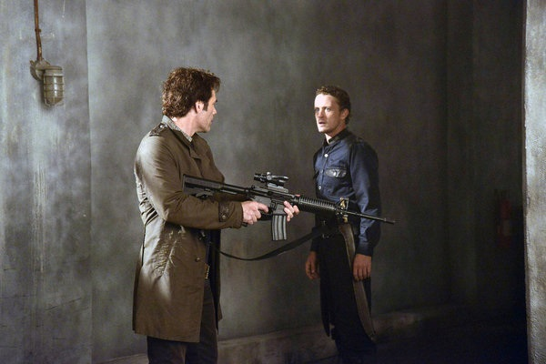 Miles and Monroe fight in Revolution