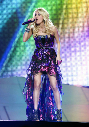 Carrie Underwood on her Blown Away Tour