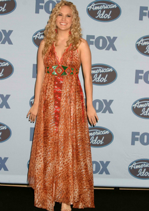 Carrie Underwood in 2005 on American Idol