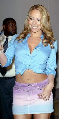 Mariah Carey on TRL in 2008