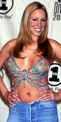 Mariah Carey at the VH1 2000 Divas: Tribute to Diana Ross