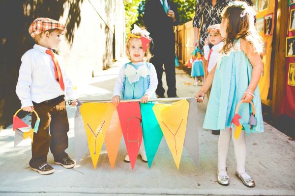 Adorable kids in weddings