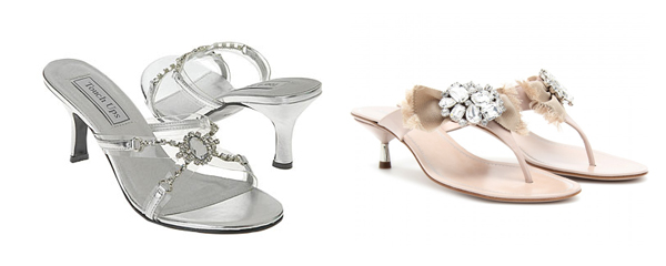 Steal the look: Kelly Rutherford jeweled sandals