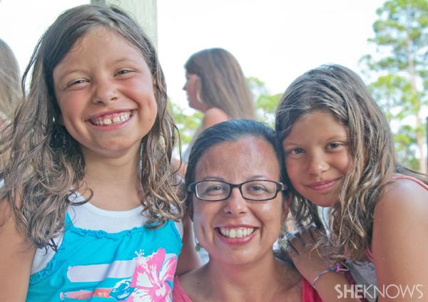 Lauren Shankman and her daughters