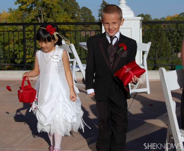 Ring bearer Ryan