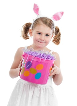 Sand pail Easter basket