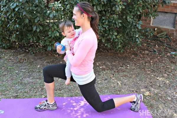lunges-with-baby