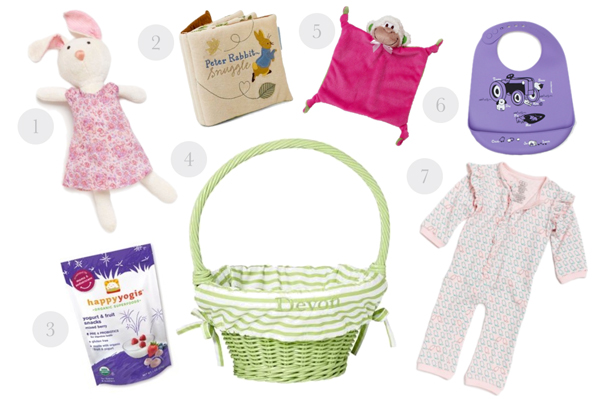 7 ideas for babys easter basket negle Choice Image