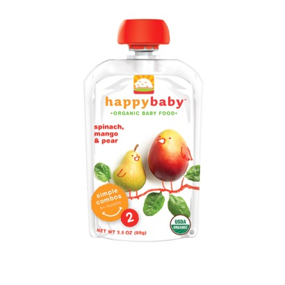 Happy Family Spinach Mango Pear