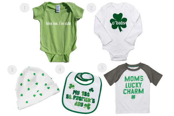 St. Patrick's Day baby outfits