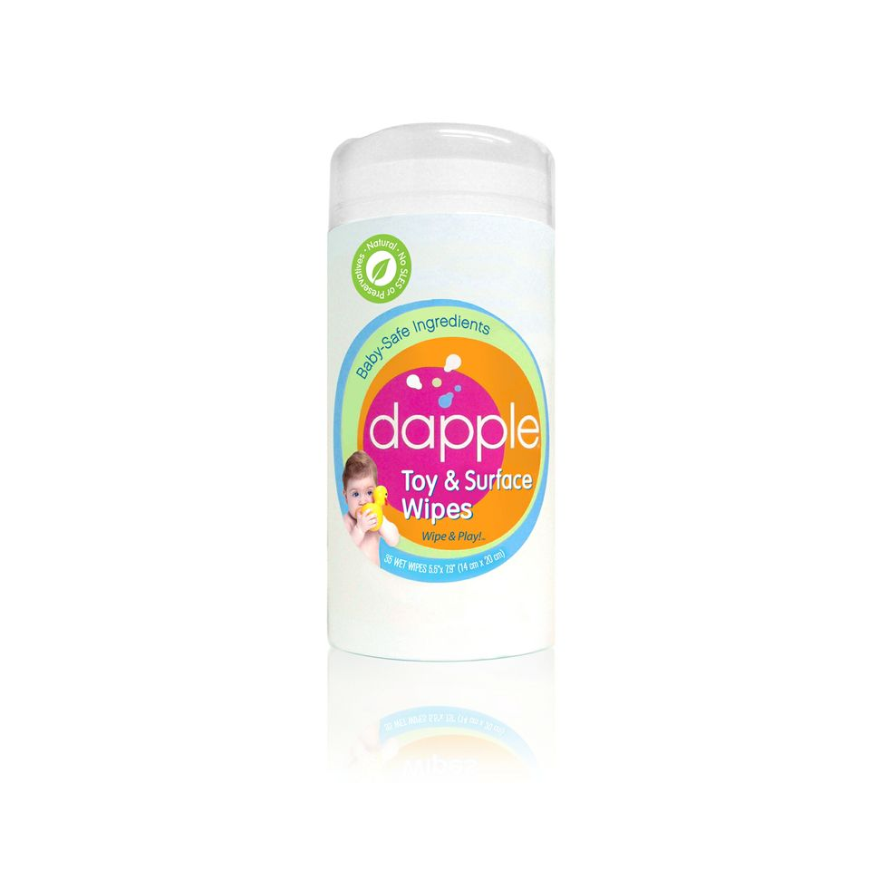 Dapple toy and surface wipes