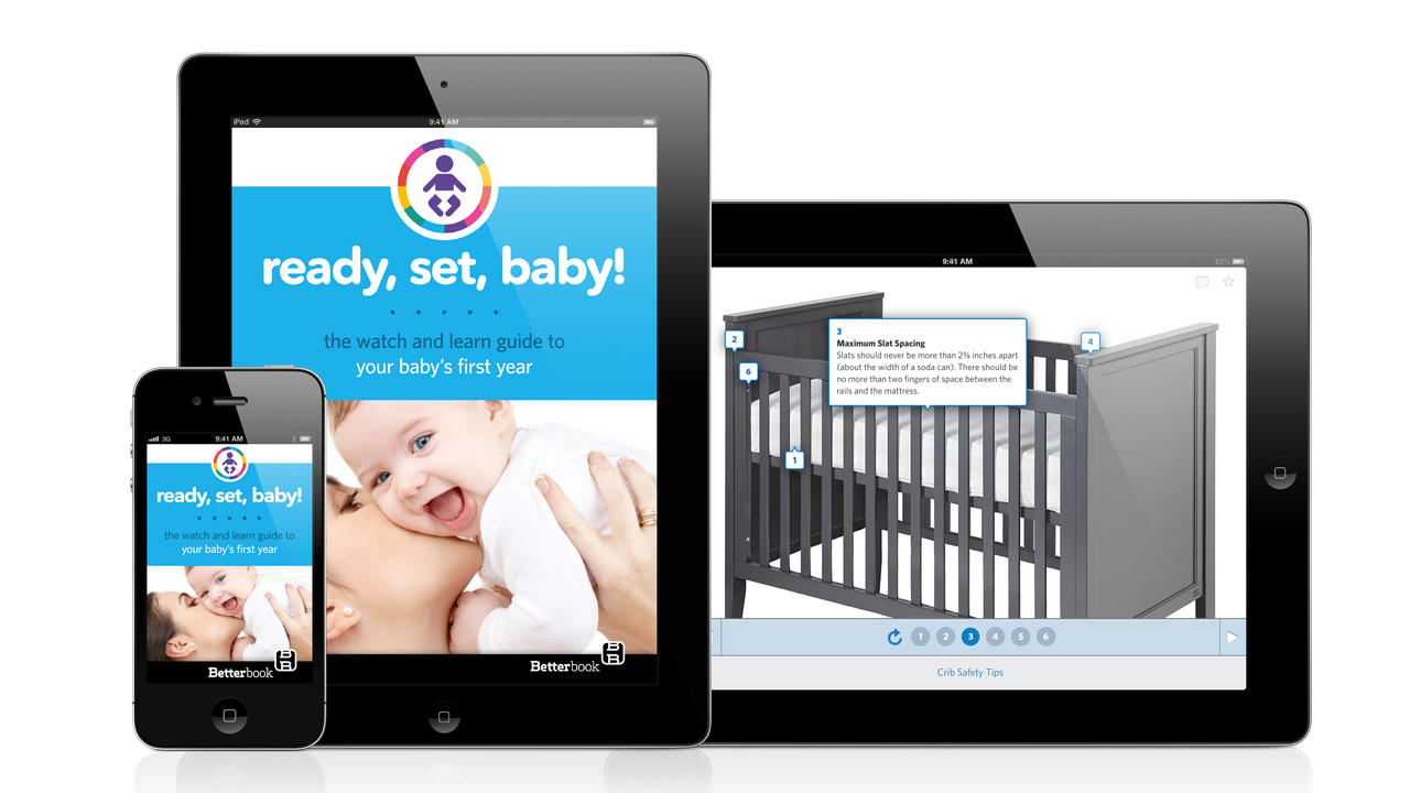 Ready, Set, Baby! Parenting book