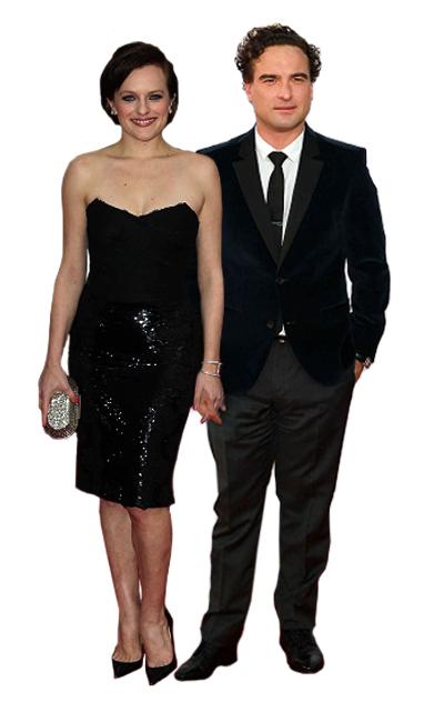 Leonard (Big Bang Theory) and Peggy (Mad Men)