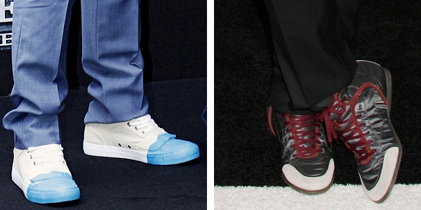 Robert Downey Jr. birthday shoes