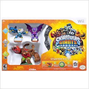 Skylander Giants starter kit for Wii