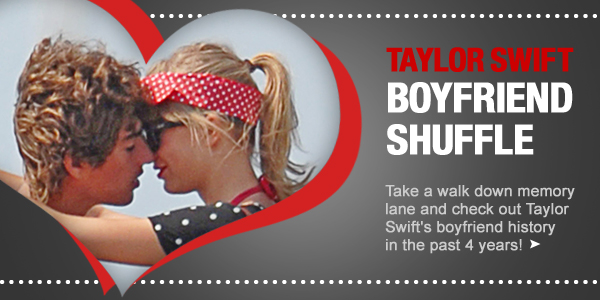 Taylor Swift boyfriend shuffle banner