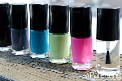 Nailpolish colors