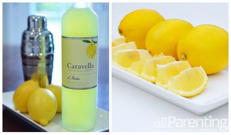 allParenting Limoncello martini collage
