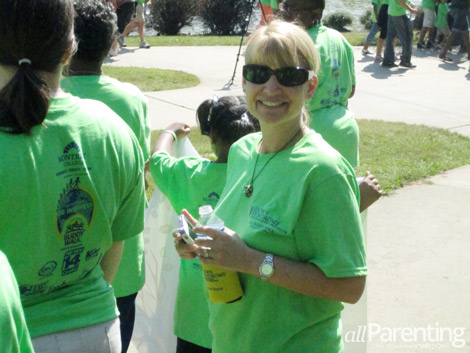 Lynette at 2012 Buddy Walk