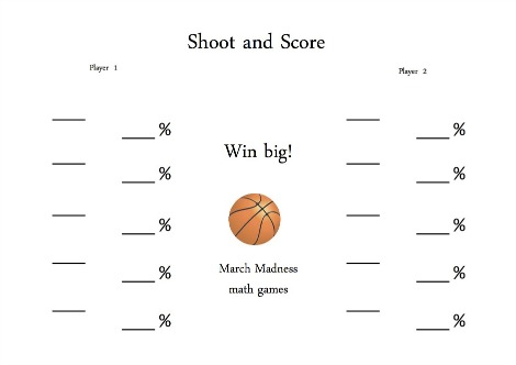 March Madness Shoot and Score
