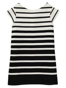 GAP girls striped ponte dress