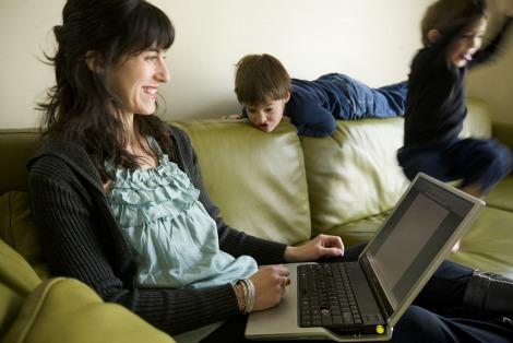Ann Imig and children