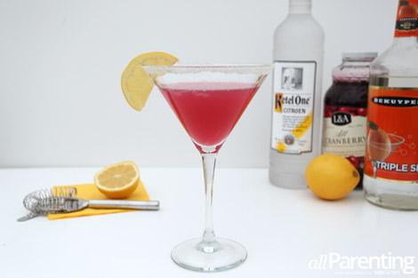 Pink Lemonade martini ingredients
