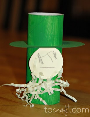 Toilet paper roll Leprechaun