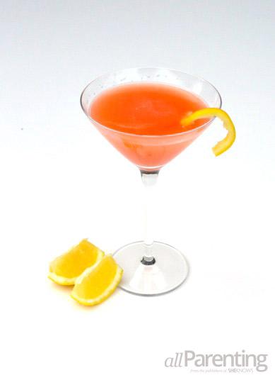 allParenting Flamingo martini cocktail