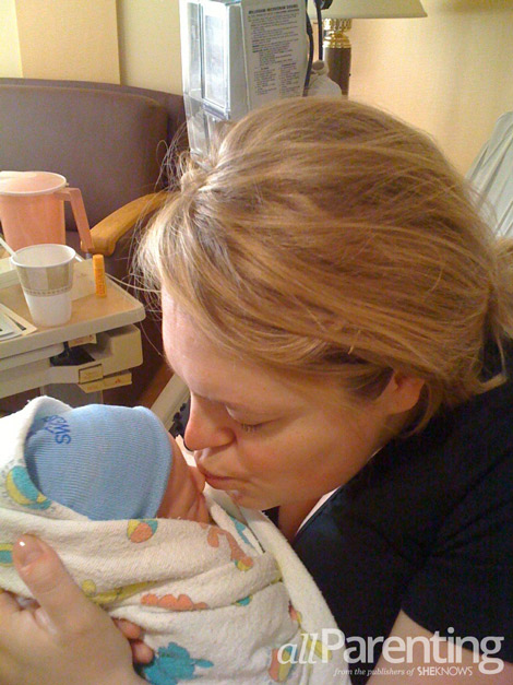 Katie Kavulla hospital birth