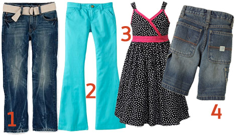 Shopping for children- clothing picks