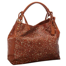 Laser floral carry all purse diaper bag alternative