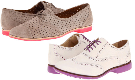 Hipster trends oxford shoes