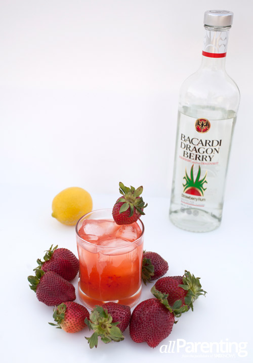 allParenting Strawberry patch cocktail