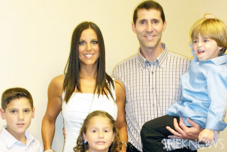Amy Friedman and family
