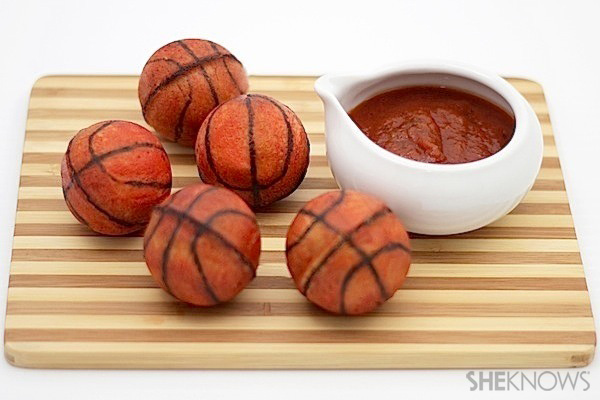 Basketball calzones recipe