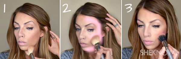 How to use bronzer correctly