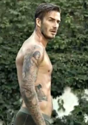 No body double for David Beckham ads